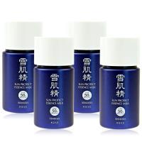 KOSE 高絲 雪肌精極效輕透防曬乳SPF50+‧PA++++(10G)X4