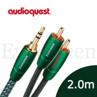 美國線聖 Audioquest Evergreen (3.5mm to RCA) 訊號線 2.0M/公司貨