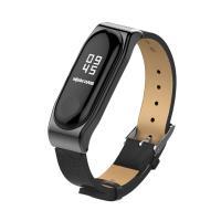 小米手環3代 經典PU腕帶/錶帶 加贈保護貼2張