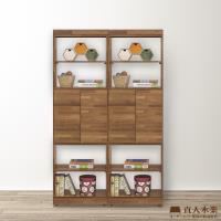 日本直人木業-STYLE積層木中門 120 公分書櫃 隔間櫃 玄關櫃