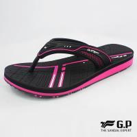 G.P 女款親子系列緩震夾腳拖鞋G8509BW-黑桃色(SIZE:33-39 共三色)