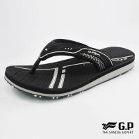 G.P 女款親子系列緩震夾腳拖鞋G8509BW-黑色(SIZE:33-39 共三色)