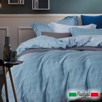 Raphael拉斐爾 藍調 天絲加大四件式床包兩用被套組