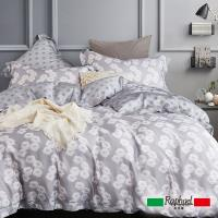 Raphael拉斐爾 蔓舞 天絲加大四件式床包兩用被套組