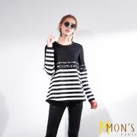 MONS法式典雅蕾絲造型上衣