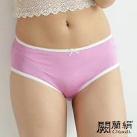 闕蘭絹 清新甜美100%蠶絲內褲 紫色 (2211)