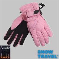 [SNOW TRAVEL]英國進口PORELLE防水保暖透氣薄手套AR-52(粉)/M號(女)/滑雪/騎車/戶外/雨天/軍用防水套不輸GORE-TEX