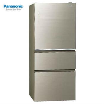 Panasonic國際牌 610L 三門變頻nanoeX電冰箱(翡翠金)NR-C610NHGS-N