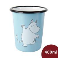 Muurla 嚕嚕米琺瑯水杯 嚕嚕米 天空藍 400ml