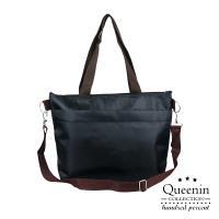 DF Queenin流行 - 野餐必備手提斜背保鮮保冷袋-共2色