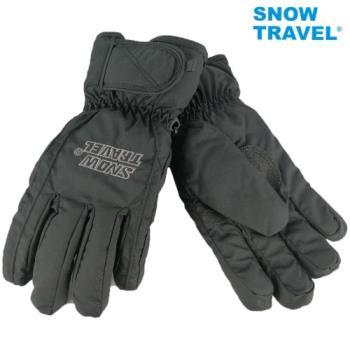 [SNOW TRAVEL]AR-ONE英國TPU防水套+白鵝羽絨700fill防水保暖滑雪手套/黑/L/日本輕井澤2016年滑雪紀念版/攻頂/海釣