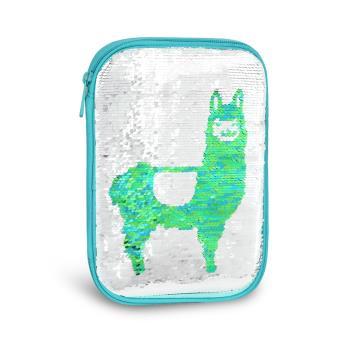 Tiger Family-Fun Time系列翻轉變色亮片收納包-草泥馬