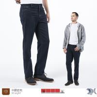 【NST Jeans】剛硬線條秋冬彈性牛仔男褲(中腰) 395(66546)