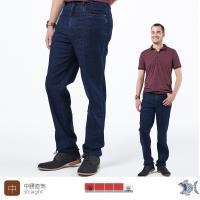 【NST Jeans】神秘藍洞 無刷色靛藍 男 秋冬彈性牛仔褲(中腰) 395(66542)