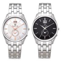 Olympia Star 奧林比亞之星-經典都會系列小秒針時尚計時腕錶(兩色可選)58072-03MS