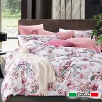 Raphael拉斐爾 嫣紅 純棉特大四件式床包被套組
