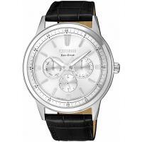 CITIZEN星辰 光動能 展現自我三眼手錶(銀/ 43mm) BU2071-01A