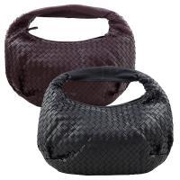 【BOTTEGA VENETA】小羊皮編織肩背包-中(2色)