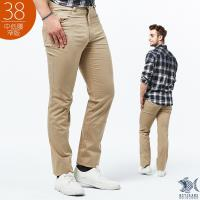NST Jeans 乾淨陽光男孩 卡其休閒長褲(中低腰窄版) 385(6505)