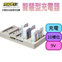 【MAHA-POWEREX】智慧型9V鎳氫電池充電器(MH-C1090F)