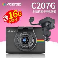 Polaroid 寶麗萊 C207G FullHD高畫質 固定測速預警行車紀錄器