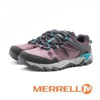 MERRELL (女)ALL OUT BLAZE 2 GORE-TEX®健走登山鞋 耐磨抗菌 防水 防臭緩震-紫