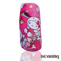 BEDDING-Hello Kitty三麗鷗正版授權圓筒抱枕-粉色凱蒂貓