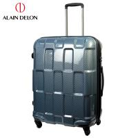 ALAIN DELON 亞蘭德倫 25吋TPU系列拉鍊行李箱(藍)