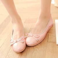 Alice 小金線條Q底平底鞋