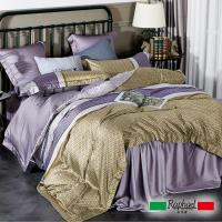 Raphael拉斐爾 潮流 天絲加大四件式床包兩用被套組