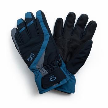 Route8 COURSYN PRIMALOFT(可觸碰控滑屏)防水保暖手套 (黑色)