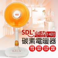 【SDL 山多力】14吋碳素電暖器(SL-1468)