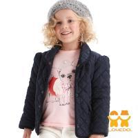 LOVEDO-艾唯多童裝 法式魅力 保暖鋪棉外套(藍) J1102312