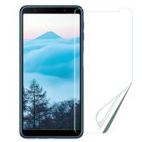 Xmart for Samsung Galaxy A7 2018 高透光亮面耐磨保護貼-非滿版