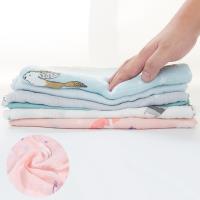 荷蘭Muslintree雙層紗布包巾竹纖維新生兒蓋毯寶寶包被【2條入】