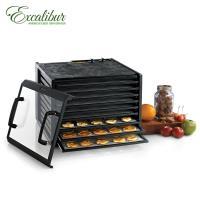Excalibur伊卡莉柏低溫乾果機九層/旋鈕式/透明門/塑膠(黑)3926TCDB(送食物處理機)