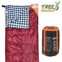 TreeWalker 法蘭絨暖暖睡袋 - 橘紅