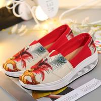 Alice 氣流式塗鴉設計健走鞋
