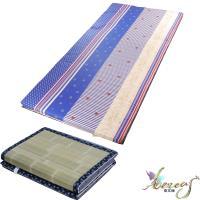 日式刮青蓆-藍海繁星純棉床墊-單人3x6尺2