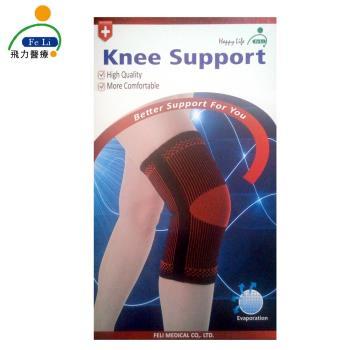 【Fe Li 飛力醫療】HA系列 專業雙色軟鐵護膝(H22)