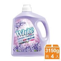 白帥帥 馨香抗菌洗衣精3150gx4瓶-風信子香氛