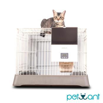 PETWANT籠子專用寵物自動餵食器F4LCD(不含籠子)