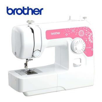 日本[brother]實用型縫紉機 JV-1400粉漾圓舞曲