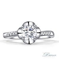 【DINA 蒂娜珠寶】 愛琴海傳說 GIA 0.54 克拉D/VS2 鑽戒 求婚戒指(鑽石戒指)