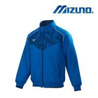 Mizuno 美津濃 男 棒球夾克 法國藍 12TE8G5222