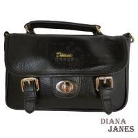 真皮包【Diana Janes 黛安娜】時尚經典小方包