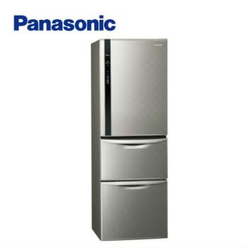 送吸濕毯★ Panasonic國際牌468公升一級能效三門變頻冰箱(銀河灰)NR-C479HV-S (庫)
