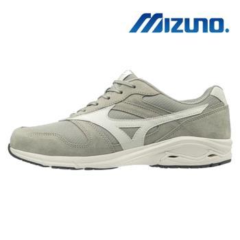 【MIZUNO 美津濃】CS800 寬楦 健走鞋 休閒鞋 男 灰(B1GE183403)