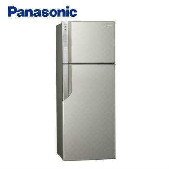 送吸濕毯★ Panasonic國際牌485公升一級能效雙門變頻冰箱(銀河灰)NR-B489GV-S (庫)