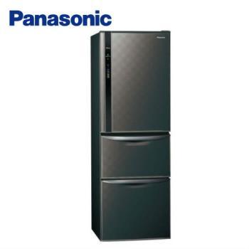 【回饋10%東森幣+滿額送西堤】Panasonic國際牌 一級能效 385L三門變頻電冰箱(星空黑)NR-C389HV-K (庫)